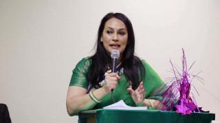 एनआरएनए आईसीसी महिला संयोजकमा थापाको उम्मेदवारी